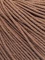 Fiber Content 60% Cotton, 40% Acrylic, Brand Ice Yarns, Camel, Yarn Thickness 2 Fine  Sport, Baby, fnt2-51205