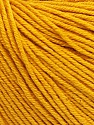 Fiber Content 60% Cotton, 40% Acrylic, Brand Ice Yarns, Gold, Yarn Thickness 2 Fine  Sport, Baby, fnt2-51207