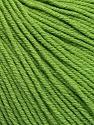 Fiber Content 60% Cotton, 40% Acrylic, Brand Ice Yarns, Green, Yarn Thickness 2 Fine  Sport, Baby, fnt2-51209