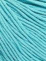 Fiber Content 60% Cotton, 40% Acrylic, Light Turquoise, Brand Ice Yarns, Yarn Thickness 2 Fine  Sport, Baby, fnt2-51558