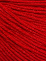 Fiber Content 60% Cotton, 40% Acrylic, Red, Brand Ice Yarns, Yarn Thickness 2 Fine  Sport, Baby, fnt2-51560