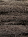 Fiber Content 100% Superwash Wool, Brand Ice Yarns, Dark Brown, Yarn Thickness 6 SuperBulky  Bulky, Roving, fnt2-51673