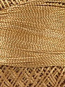 Contenido de fibra 100% Micro fibra, Brand YarnArt, Dark Gold, Yarn Thickness 0 Lace  Fingering Crochet Thread, fnt2-52259