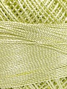 Contenido de fibra 100% Micro fibra, Brand YarnArt, Light Green, Yarn Thickness 0 Lace  Fingering Crochet Thread, fnt2-52265