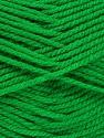 Worsted  Fiber Content 100% Acrylic, Brand Ice Yarns, Green, Yarn Thickness 4 Medium  Worsted, Afghan, Aran, fnt2-52672