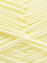 Worsted  Fiber Content 100% Acrylic, Lemon Yellow, Brand Ice Yarns, Yarn Thickness 4 Medium  Worsted, Afghan, Aran, fnt2-52729