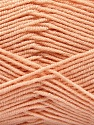 Fiber Content 50% Acrylic, 50% Bamboo, Light Salmon, Brand Ice Yarns, Yarn Thickness 2 Fine  Sport, Baby, fnt2-53096