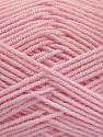 Fiber Content 50% Bamboo, 50% Acrylic, Light Pink, Brand Ice Yarns, Yarn Thickness 2 Fine  Sport, Baby, fnt2-54129
