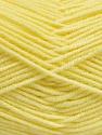Fiber Content 50% Bamboo, 50% Acrylic, Light Yellow, Brand Ice Yarns, Yarn Thickness 2 Fine  Sport, Baby, fnt2-54130