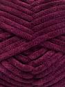 Fiber Content 100% Micro Fiber, Maroon, Brand Ice Yarns, Yarn Thickness 4 Medium  Worsted, Afghan, Aran, fnt2-54158