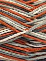 Fiber Content 100% Cotton, White, Brand Ice Yarns, Grey Shades, Copper, Beige, Yarn Thickness 3 Light  DK, Light, Worsted, fnt2-54351