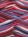 Fiber Content 100% Cotton, White, Lilac, Brand Ice Yarns, Brown, Yarn Thickness 3 Light  DK, Light, Worsted, fnt2-54352