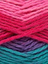 Fiber Content 70% Acrylic, 30% Wool, Turquoise, Pink Shades, Lilac, Brand Ice Yarns, Yarn Thickness 4 Medium  Worsted, Afghan, Aran, fnt2-54678