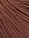 Global Organic Textile Standard (GOTS) Certified Product. CUC-TR-017 PRJ 805332/918191 Fiberinnehåll 100% Ekologisk bomull, Rose Brown, Brand Ice Yarns, Yarn Thickness 3 Light  DK, Light, Worsted, fnt2-54795