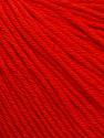 Global Organic Textile Standard (GOTS) Certified Product. CUC-TR-017 PRJ 805332/918191 Contenido de fibra 100% El algodón orgánico, Red, Brand Ice Yarns, Yarn Thickness 3 Light  DK, Light, Worsted, fnt2-54797