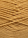 Worsted  Fiber Content 100% Acrylic, Brand Ice Yarns, Cafe Latte, Yarn Thickness 4 Medium  Worsted, Afghan, Aran, fnt2-54876