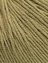 Global Organic Textile Standard (GOTS) Certified Product. CUC-TR-017 PRJ 805332/918191 Fiberinnehåll 100% Ekologisk bomull, Light Khaki, Brand Ice Yarns, Yarn Thickness 3 Light  DK, Light, Worsted, fnt2-55218
