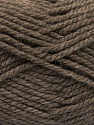 Bulky  Fiber Content 100% Acrylic, Brand Ice Yarns, Brown, Yarn Thickness 5 Bulky  Chunky, Craft, Rug, fnt2-55652