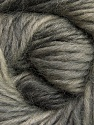 Fiber Content 100% Wool, Brand Ice Yarns, Grey Shades, Yarn Thickness 4 Medium  Worsted, Afghan, Aran, fnt2-55795