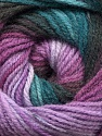 Fiber Content 100% Acrylic, Turquoise, Purple Shades, Brand Ice Yarns, Brown, Yarn Thickness 3 Light  DK, Light, Worsted, fnt2-55952