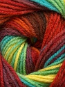 Fiber Content 100% Acrylic, Yellow, Turquoise, Red, Maroon, Brand Ice Yarns, Green, Burgundy, Yarn Thickness 3 Light  DK, Light, Worsted, fnt2-55958