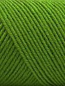 Fiber Content 50% Wool, 50% Acrylic, Light Green, Brand Ice Yarns, Yarn Thickness 3 Light  DK, Light, Worsted, fnt2-56434