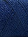 Fiber Content 50% Wool, 50% Acrylic, Navy, Brand Ice Yarns, Yarn Thickness 3 Light  DK, Light, Worsted, fnt2-56435