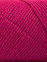 Fiber Content 50% Wool, 50% Acrylic, Brand Ice Yarns, Dark Fuchsia, Yarn Thickness 3 Light  DK, Light, Worsted, fnt2-56441