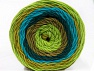 Fiber Content 100% Acrylic, Turquoise, Teal, Brand Ice Yarns, Green Shades, Camel, Yarn Thickness 4 Medium  Worsted, Afghan, Aran, fnt2-56551