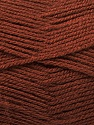 Fiber Content 100% Acrylic, Brand Ice Yarns, Brown, Yarn Thickness 3 Light  DK, Light, Worsted, fnt2-56563