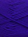 Fiber Content 50% Acrylic, 50% Bamboo, Purple, Brand Ice Yarns, Yarn Thickness 2 Fine  Sport, Baby, fnt2-56581