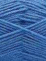 Fiber Content 65% Merino Wool, 35% Silk, Brand Ice Yarns, Blue, Yarn Thickness 3 Light  DK, Light, Worsted, fnt2-57680