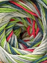 Fiber Content 100% Acrylic, White, Neon Pink, Neon Green, Jeans Blue, Brand Ice Yarns, Grey, Yarn Thickness 3 Light  DK, Light, Worsted, fnt2-57755