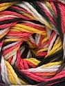 Fiber Content 100% Acrylic, Yellow, White, Salmon, Brand Ice Yarns, Grey, Black, Yarn Thickness 3 Light  DK, Light, Worsted, fnt2-57763