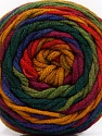 Fiber Content 100% Acrylic, Red, Purple, Brand Ice Yarns, Green Shades, Gold, Yarn Thickness 4 Medium  Worsted, Afghan, Aran, fnt2-58033