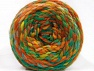 Fiber Content 70% Acrylic, 30% Wool, Yellow, Brand Ice Yarns, Green Shades, Gold, Brown Shades, Yarn Thickness 6 SuperBulky  Bulky, Roving, fnt2-58159