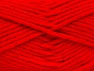 Fiber Content 72% Premium Acrylic, 3% Metallic Lurex, 25% Wool, Red, Brand Ice Yarns, Yarn Thickness 5 Bulky  Chunky, Craft, Rug, fnt2-58207