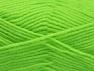 Fiber Content 60% Acrylic, 40% Wool, Neon Green, Brand Ice Yarns, Yarn Thickness 3 Light  DK, Light, Worsted, fnt2-58341