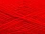 Fiber Content 50% Wool, 50% Acrylic, Red, Brand Ice Yarns, Yarn Thickness 4 Medium  Worsted, Afghan, Aran, fnt2-58376