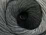 Fiber Content 60% Premium Acrylic, 20% Alpaca, 20% Wool, Brand Ice Yarns, Grey Shades, Yarn Thickness 2 Fine  Sport, Baby, fnt2-58395