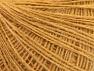 Fiber Content 50% Wool, 50% Acrylic, Brand Ice Yarns, Gold, Yarn Thickness 2 Fine  Sport, Baby, fnt2-60017
