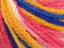Fiber Content 50% Polyamide, 50% Acrylic, White, Pink, Brand Ice Yarns, Gold, Blue, Yarn Thickness 4 Medium  Worsted, Afghan, Aran, fnt2-60364