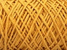 Please be advised that yarn iade made of recycled cotton, and dye lot differences occur. Fiber Content 100% Cotton, Brand Ice Yarns, Gold, Yarn Thickness 5 Bulky  Chunky, Craft, Rug, fnt2-60414
