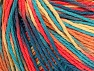 Fiber Content 100% Acrylic, Turquoise, Salmon, Jeans Blue, Brand Ice Yarns, Gold, Yarn Thickness 2 Fine  Sport, Baby, fnt2-60463