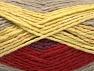 Fiber Content 70% Acrylic, 30% Wool, Yellow, Brand Ice Yarns, Copper, Beige, Yarn Thickness 4 Medium  Worsted, Afghan, Aran, fnt2-60842