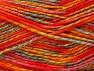 Fiber Content 100% Premium Acrylic, Red, Orange Shades, Mint Green, Brand Ice Yarns, Gold, Yarn Thickness 2 Fine  Sport, Baby, fnt2-60950