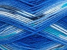Fiber Content 100% Baby Acrylic, Turquoise, Light Grey, Brand Ice Yarns, Blue Shades, Yarn Thickness 2 Fine  Sport, Baby, fnt2-61135