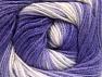 Fiber Content 100% Baby Acrylic, Lilac Shades, Brand Ice Yarns, Cream, Yarn Thickness 2 Fine  Sport, Baby, fnt2-61138