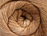 Fiber Content 95% Acrylic, 5% Lurex, Brand Ice Yarns, Cream, Brown Shades, Yarn Thickness 3 Light  DK, Light, Worsted, fnt2-63095