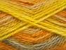 SuperBulky  Fiber Content 70% Acrylic, 30% Angora, Yellow, Light Grey, Brand Ice Yarns, Gold, Yarn Thickness 6 SuperBulky  Bulky, Roving, fnt2-63143
